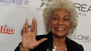Nichelle Nichols, Lt. Uhura of Star Trek fame, in 2010MARK RALSTON/AFP/Getty Images