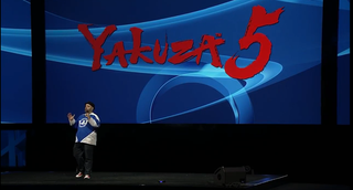 Illustration for article titled Holy Crap, Yakuza 5Will Be Out In The West Next Year