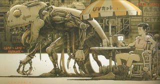 Illustration for article titled Tatsuyuki Tanaka's Cyberpunk Fairytales
