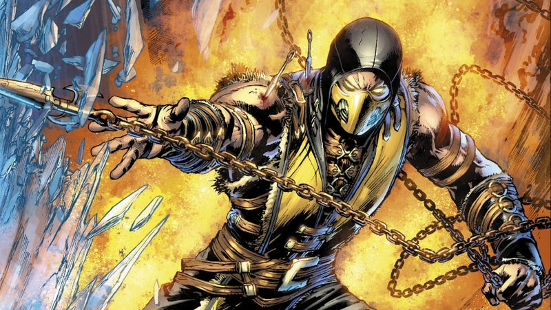 Illustration for article titled The New Mortal Kombat Comic Isn't Even Bad in a Good Way