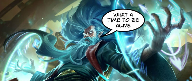 Zilean's New Passive In League Of Legends Will Let Him Level
