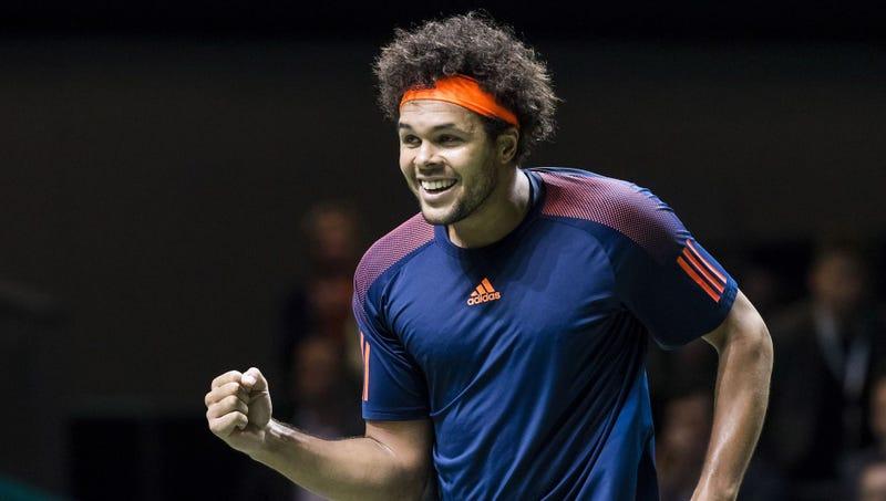 Tsonga beats Berdych to reach World Tennis Tournament final