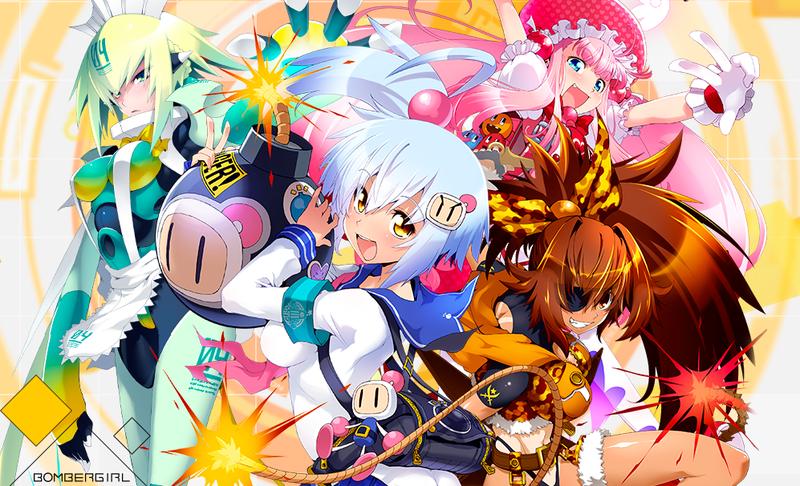 Konami Turns Bomberman Into Bombergirl