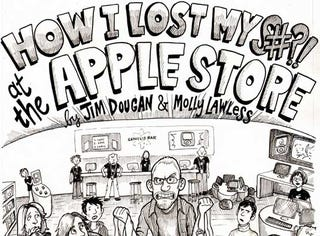 Illustration for article titled Guy Makes a Comic to Try to Justify Acting Like a Jackass at the Apple Store