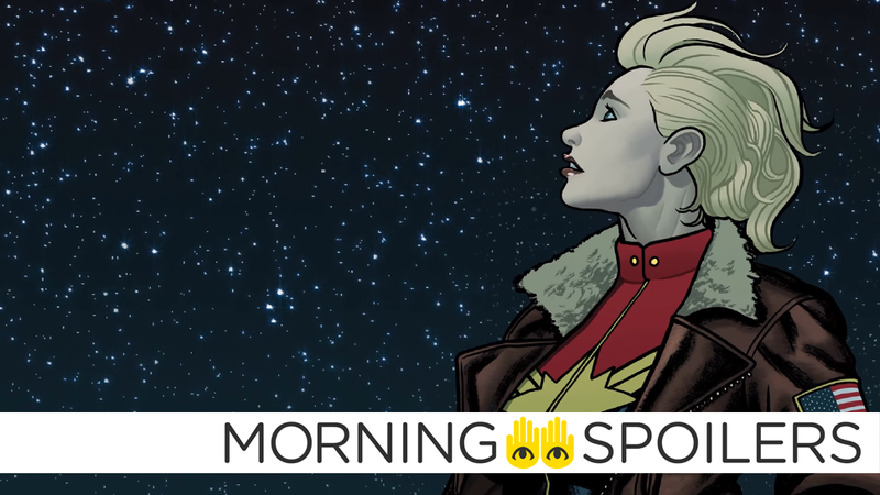 Illustration for article titled More Rumors About the Identity of Captain Marvel's Cosmic Villain