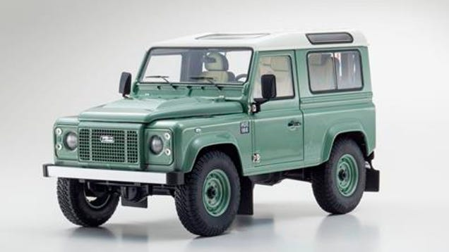 new kyosho release land rover defender 90 final edition. Black Bedroom Furniture Sets. Home Design Ideas