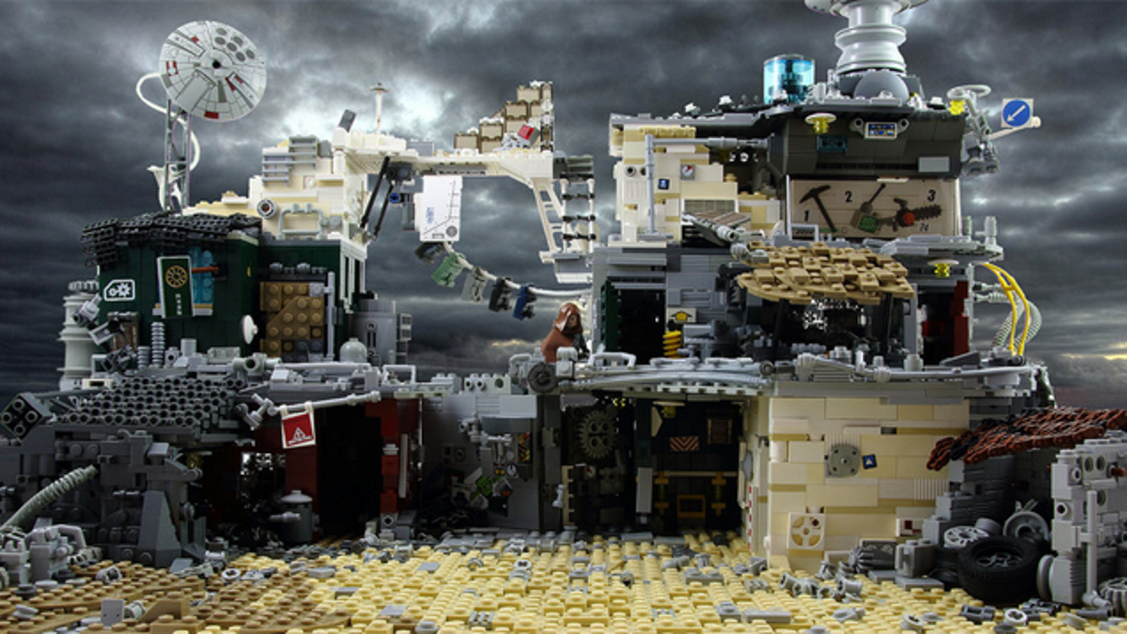 cyberpunk lego is  sadly  not official