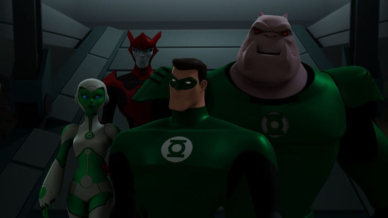 Illustration for article titled Just Finished Watching Green Lantern: The Animated Series