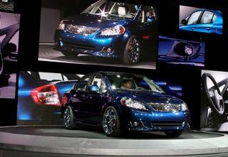 Illustration for article titled New York Auto Show: Suzuki SX4 Slingshots Into Sedan