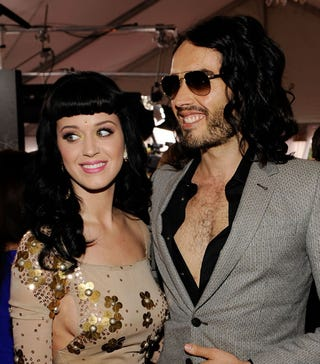 Illustration for article titled Katy And Russell Still Married; Rihanna A No-Show