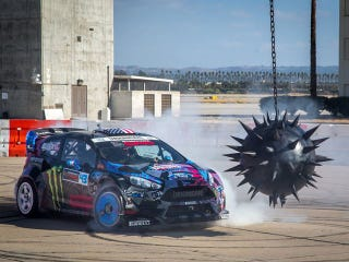 Illustration for article titled What was the Slayer song @ the end of Gymkhana 6?