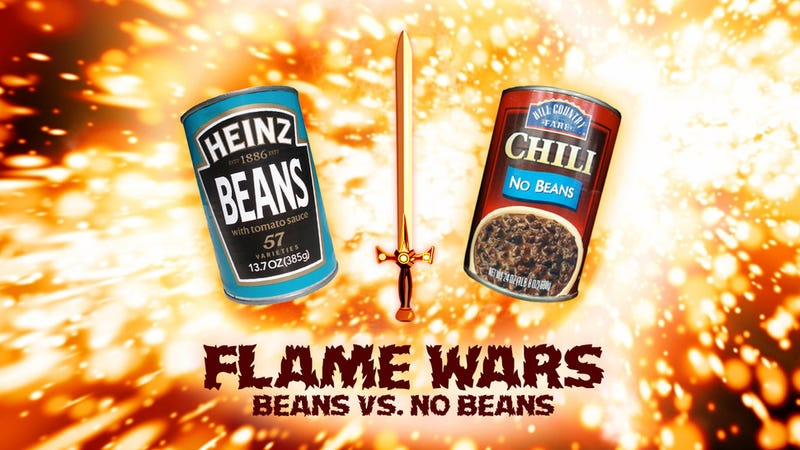 Illustration for article titled Beans vs. No Beans: Your Arguments for the Best Chili