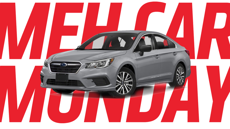 Illustration for article titled Meh Car Monday: When Was The Last Time You Thought About The Subaru Legacy?