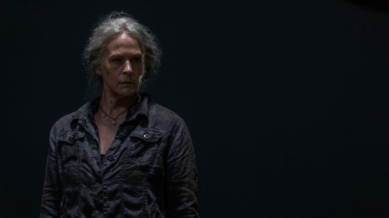 Carol (Melissa McBride) has problems beyond Whisperers and zombies.
