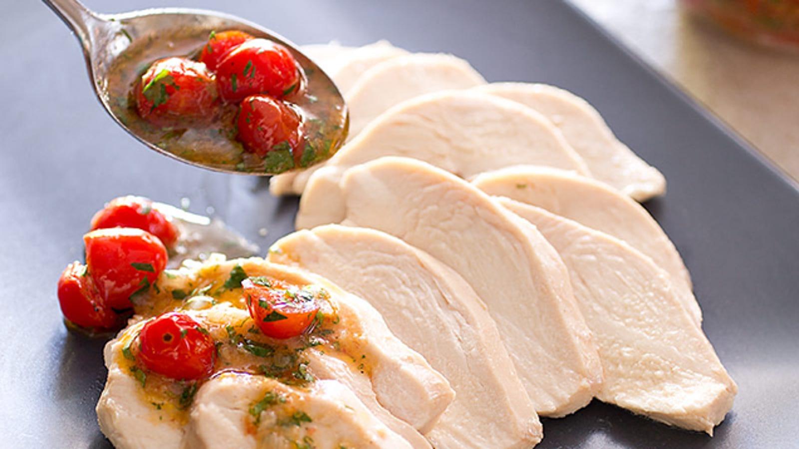 America S Test Kitchen Poached Chicken