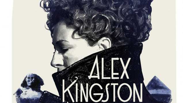 <div></noscript>Hello Again, Sweetie—Doctor Who's Alex Kingston Has Penned a River Song Novel</div>