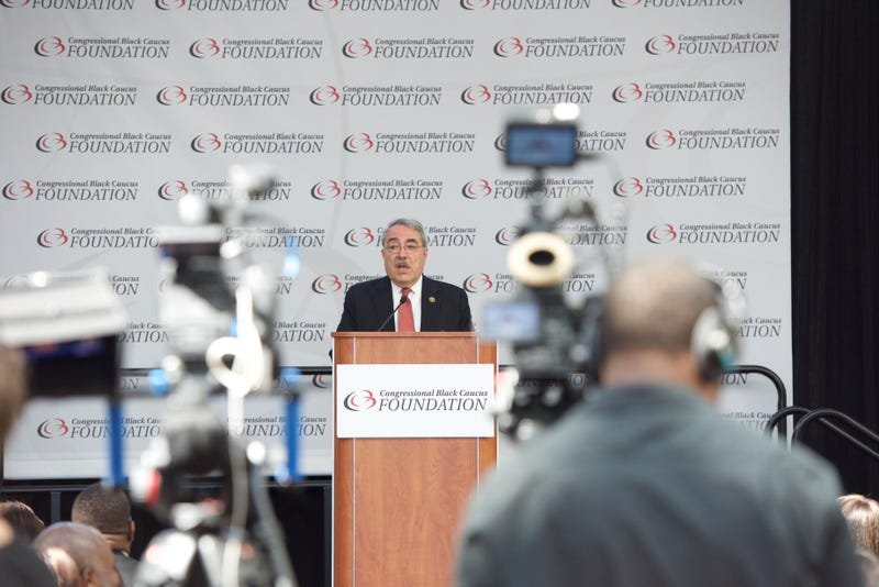 CBC Chairman G.K. Butterfield attends the 45th Annual Legislative Press Conference at Walter E. Washington Convention Center in Washington, D.C., on Sept. 16, 2015.Earl Gibson III/Getty Images