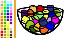 Online Coloring Book TheColor Sports Web 2.0 Features