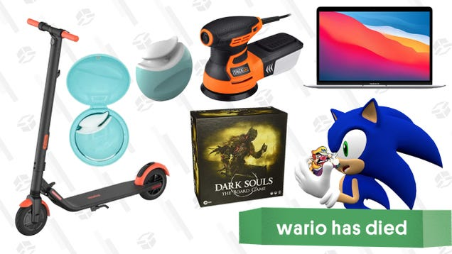 Friday s Best Deals: M1 MacBook Air, Dark Souls: The Board Game, Tacklife Random Orbit Sander, Segway Electric Scooter, Bellesa Spring Sale, and More