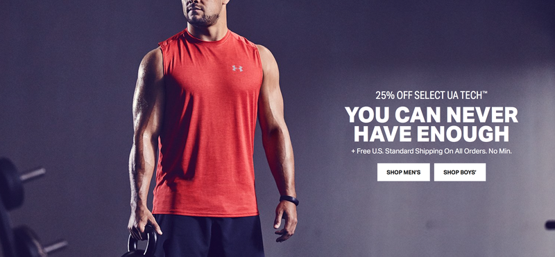 Free Shipping at Under Armour