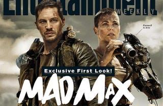 Illustration for article titled Behold Tom Hardy's Codpiece and Charlize Theron's Robot Arm In Mad Max