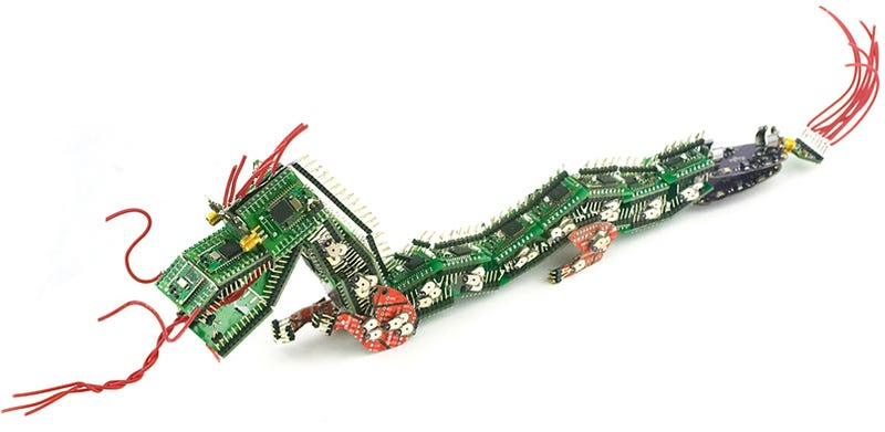 Illustration for article titled The Tale of the Circuit Board Dragon