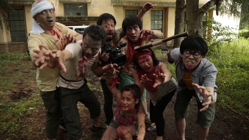 Illustration for article titled Pom! hive assemble: One Cut Of The Dead is finally coming to American movie theaters