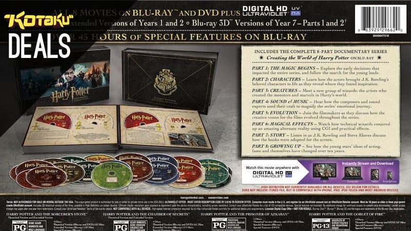 Illustration for article titled Harry Potter Complete, Tomb Raider Definitive, FFXIV Limited [Deals]