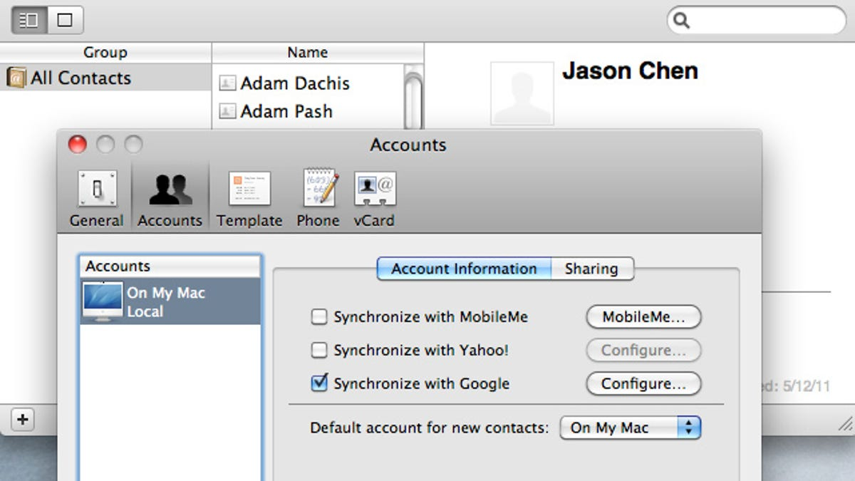 Vcard Editor Mac