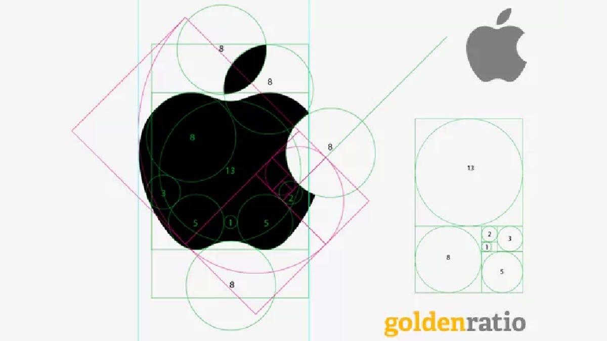 Image result for apple logo golden ratio