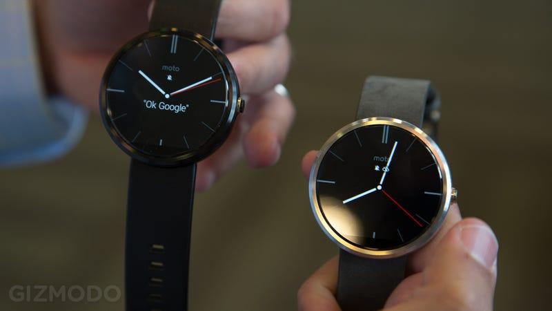 Motorola confirma todos los datos del Moto 360, a la venta en Octubre