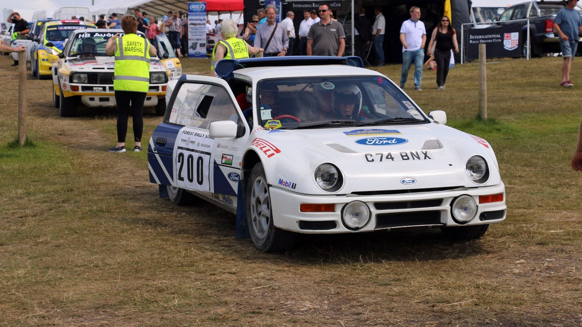 Tons Of Classic Rally Cars? Tons Of Classic Rally Cars!