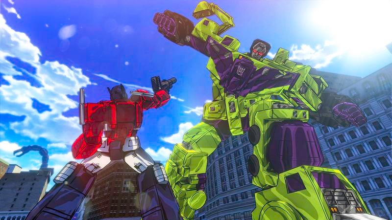 Illustration for article titled Transformers: Devastation is the best Transformers game ever