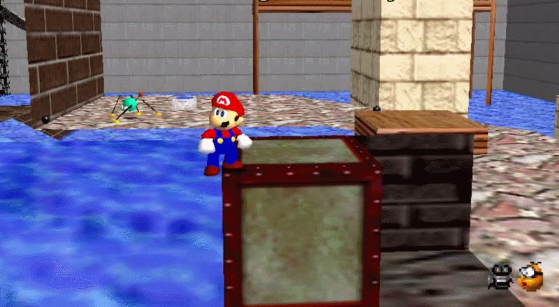Everything You Wanted To Know About Super Mario 64's Surfaces