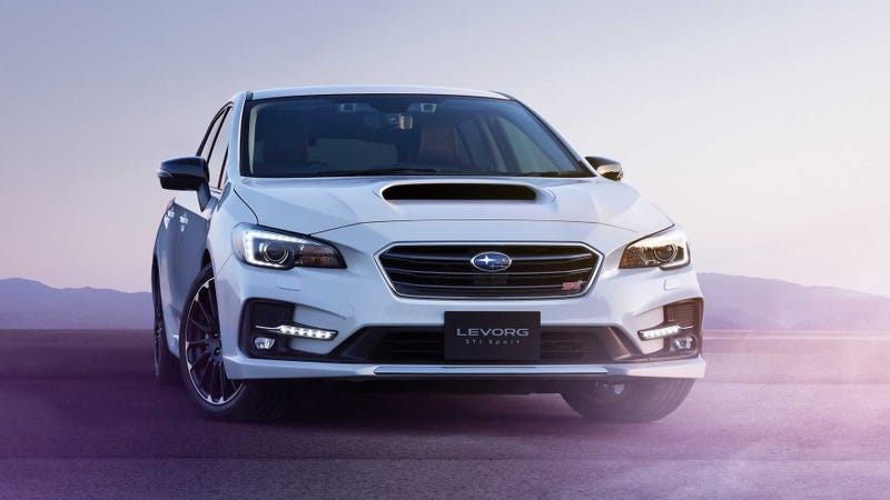 Illustration for article titled The Subaru Levorg Wagon That's Too Cool for America Just Got Even Cooler