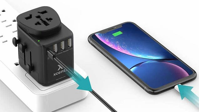 This International Power Adapter Includes USB-C Power Delivery For a Low $18 [Exclusive]