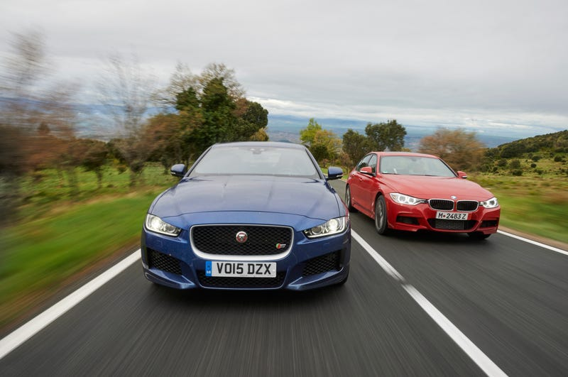 Illustration for article titled People Who Aren't British Think The XE's Better Than The 3-series!