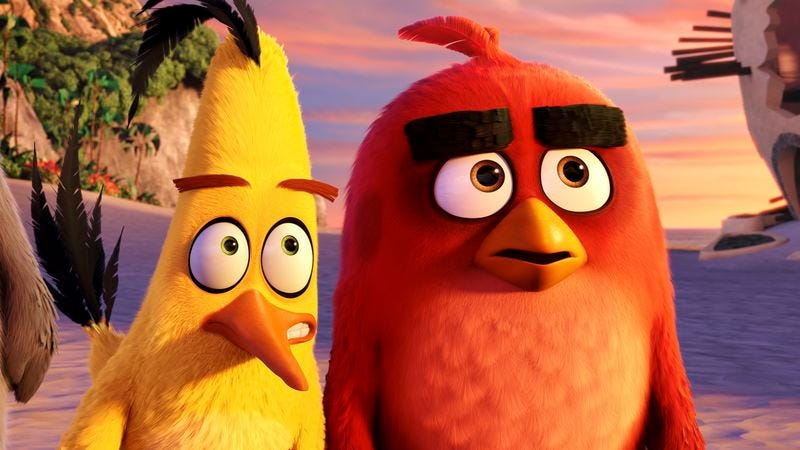 Illustration for article titled The Angry Birds Movie is infuriatingly unfunny