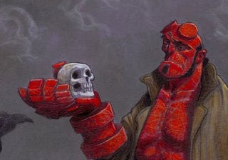 Illustration for article titled Hellboy Hamlet's Not the Weirdest Take, But It Is the Most Awesome