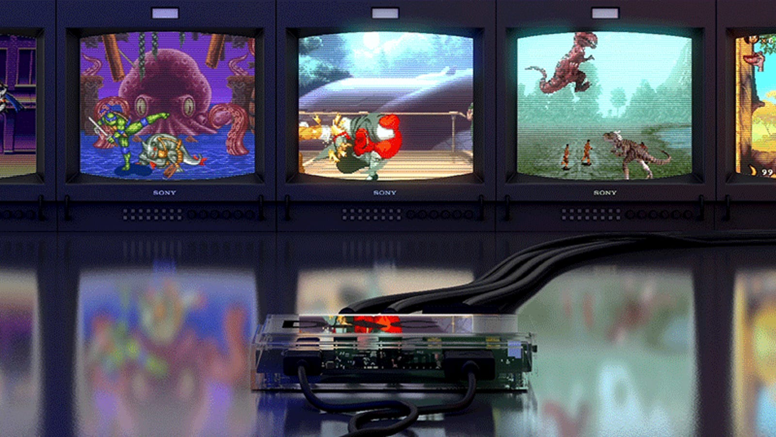Only Die-Hard Retro Gamers Will Want This Box That Lets Modern Consoles Connect to Old-School Tube TVs