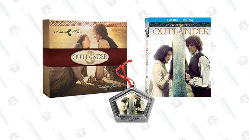 Outlander Season 3 Blu-ray With Limited Edition Ornament | $25 | Amazon