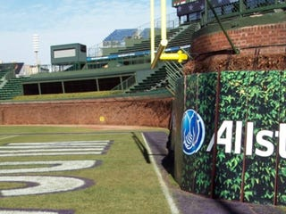 Illustration for article titled A Day Before The Game, The NCAA Figures Out That Wrigley Is A Death Trap For Football