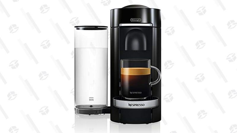 Nespresso VertuoPlus Deluxe Coffee and Espresso Maker   $100   Amazon