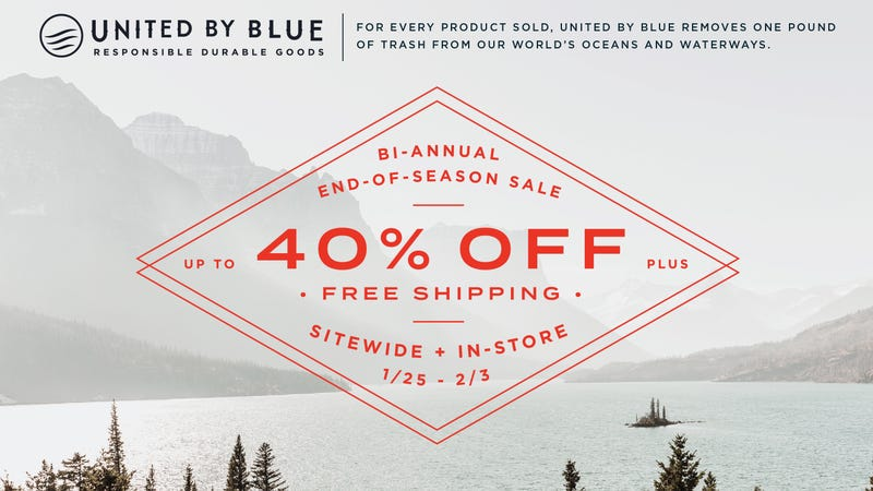 Up to 40% Off Sitewide, Plus Free Shipping | United By Blue