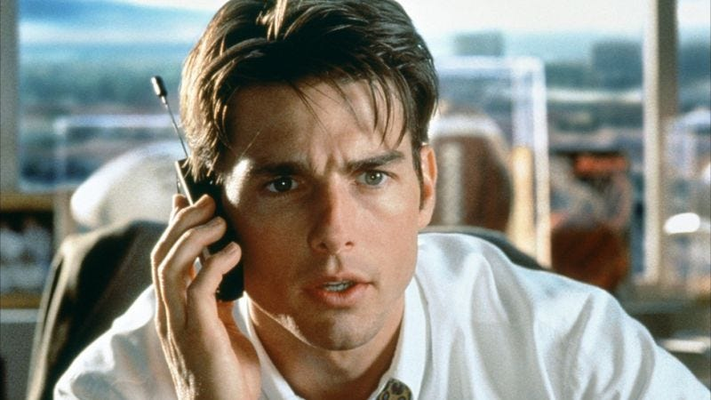 "Illustration for article titled Dive into the entire text of Jerry Maguire's deeply sincere ""mission statement"""