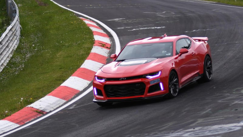 Here Is A List Of Cars That The  Camaro Zl Beat Around The Nurburgring