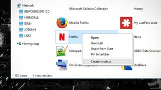 how to make a chrome shortcut on windows 7