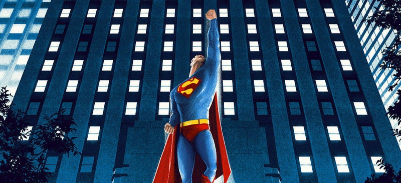Illustration for article titled This ClassicSuperman Movie Poster Is Simply Super