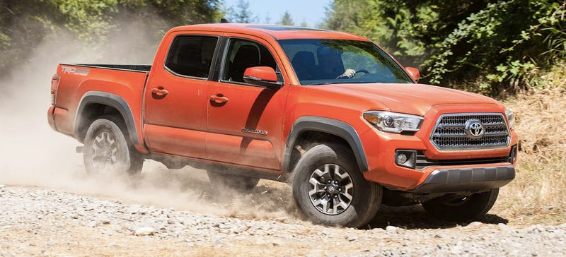 illustration for article titled the 4-cylinder toyota tacoma is completely  pointless