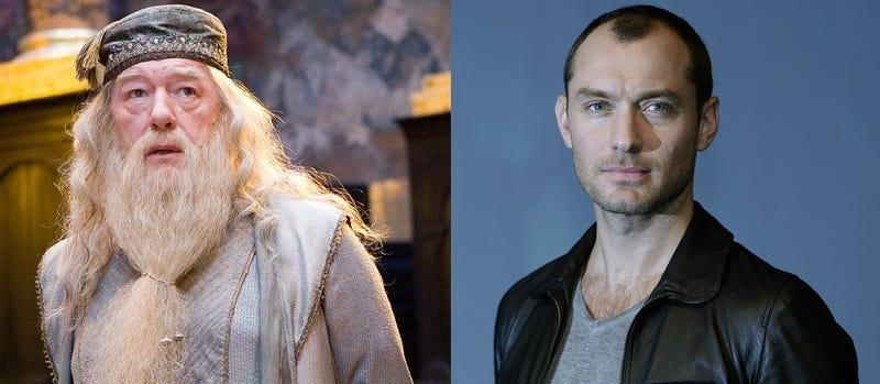 Jude Law interpretará a un joven Albus Dumbledore en la secuela de Fantastic Beasts and Where to Find Them